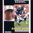 1991 Pinnacle Football #232 Marcus Allen - Los Angeles Raiders
