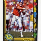 1991 Wild Card Football #004 John Elway - Denver Broncos NM-M