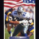 1992 All World Football #210 Emmitt Smith - Dallas Cowboys