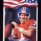 1992 All World Football #088 John Elway - Denver Broncos