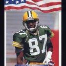 1992 All World Football #058 Robert Brooks RC - Green Bay Packers