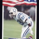 1992 All World Football #035 Ashley Ambrose RC - Indianapolis Colts