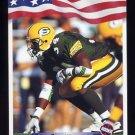 1992 All World Football #029 Edgar Bennett RC - Green Bay Packers