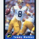 1992 Classic Football #58 Tommy Maddox - Denver Broncos