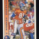 1992 Pacific Football #080 Shannon Sharpe - Denver Broncos