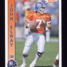 1992 Pacific Football #075 John Elway - Denver Broncos