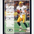 2005 Bowman Football #024 Brett Favre - Green Bay Packers