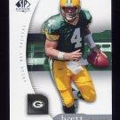 2005 SP Authentic Football #030 Brett Favre - Green Bay Packers