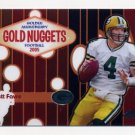 2005 Topps Chrome Gold Nuggets Insert #GN2 Brett Favre - Green Bay Packers
