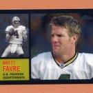 2005 Topps Chrome Football Throwbacks Insert #TB7 Brett Favre - Green Bay Packers