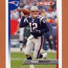 2005 Topps Total Football #098 Tom Brady - New England Patriots