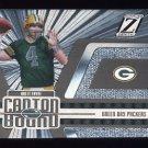 2005 Zenith Football Canton Bound Silver Insert #CB1 Brett Favre - Green Bay Packers
