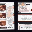 2006 Absolute Memorabilia Team Trios Silver #02 Chad Johnson, Carson Palmer and Rudi Johnson 160/200