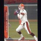2006 Absolute Memorabilia Spectrum Red Insert #037 Charlie Frye - Cleveland Browns