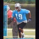2006 Absolute Memorabilia Retail #044 Keyshawn Johnson - Carolina Panthers