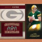 2006 Playoff Prestige Football Gridiron Heritage Insert #012 Brett Favre - Green Bay Packers