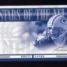 2006 Playoff Prestige Football Stars of the NFL Insert #013 Brett Favre - Green Bay Packers