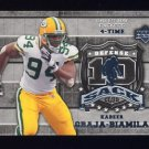 2006 Upper Deck Football 10 Sack Club Insert #10SKG Kabeer Gbaja-Biamila - Green Bay Packers