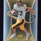 2007 Artifacts Football #141 Scott Chandler RC - San Diego Chargers