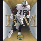 2007 Artifacts Football #075 Randy Moss - Oakland Raiders