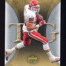 2007 Artifacts Football #053 Tony Gonzalez - Kansas City Chiefs