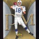 2007 Artifacts Football #044 Peyton Manning - Indianapolis Colts