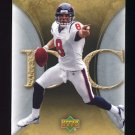 2007 Artifacts Football #041 David Carr - Houston Texans