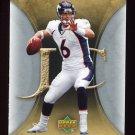 2007 Artifacts Football #031 Jay Cutler - Denver Broncos