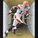 2007 Artifacts Football #025 Braylon Edwards - Cleveland Browns