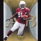 2007 Artifacts Football #004 Anquan Boldin - Arizona Cardinals
