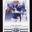 2007 Donruss Threads Football #026 Tom Brady - New England Patriots