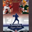 2007 Playoff Prestige Football League Leaders #03 Brett Favre / Carson Palmer