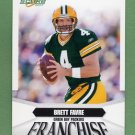 2007 Score Football Franchise Insert #04 Brett Favre - Green Bay Packers