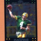 2007 Topps Chrome Football #TC114 Brett Favre - Green Bay Packers