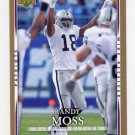 2007 Upper Deck First Edition Football Gold #072 Randy Moss - New England Patriots