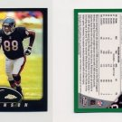 2002 Topps Chrome Football Refractors Insert #036 Marcus Robinson - Chicago Bears 505/599