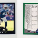2002 Topps Chrome Football Refractors Insert #029 Kevin Dyson - Tennessee Titans 239/599