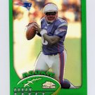 2002 Topps Chrome Football #224 Rohan Davey RC - New England Patriots
