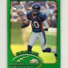 2002 Topps Chrome Football #218 Ashley Lelie RC - Denver Broncos