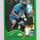 2002 Topps Chrome Football #201 John Henderson RC - Jacksonville Jaguars