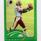 2002 Topps Chrome Football #190 Cliff Russell RC - Washington Redskins