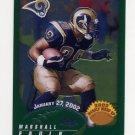 2002 Topps Chrome Football #165 Marshall Faulk - St. Louis Rams