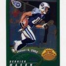 2002 Topps Chrome Football #162 Derrick Mason - Tennessee Titans