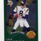 2002 Topps Chrome Football #158 Todd Bouman - Minnesota Vikings