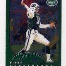 2002 Topps Chrome Football #141 Vinny Testaverde - New York Jets