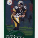 2002 Topps Chrome Football #135 Plaxico Burress - Pittsburgh Steelers