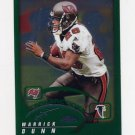2002 Topps Chrome Football #124 Warrick Dunn - Atlanta Falcons
