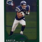 2002 Topps Chrome Football #122 Curtis Conway - San Diego Chargers