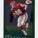 2002 Topps Chrome Football #113 Tony Gonzalez - Kansas City Chiefs