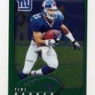 2002 Topps Chrome Football #098 Tiki Barber - New York Giants